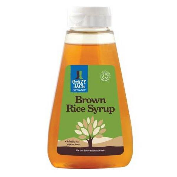 Organic Brown Rice Syrup In 330g From Crazy Jack