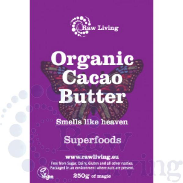 Raw Cacao Butter ORGANIC