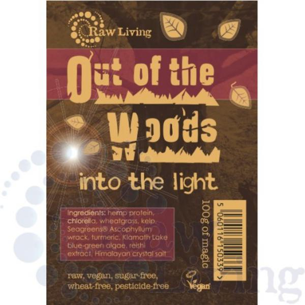 Out Of The Woods Green Powder Supplement