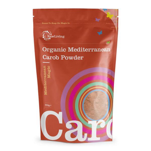 Raw Mediterranean Carob ORGANIC