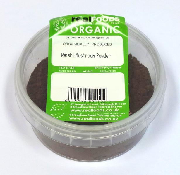 Reishi Mushrooms Powder dairy free, ORGANIC image 2