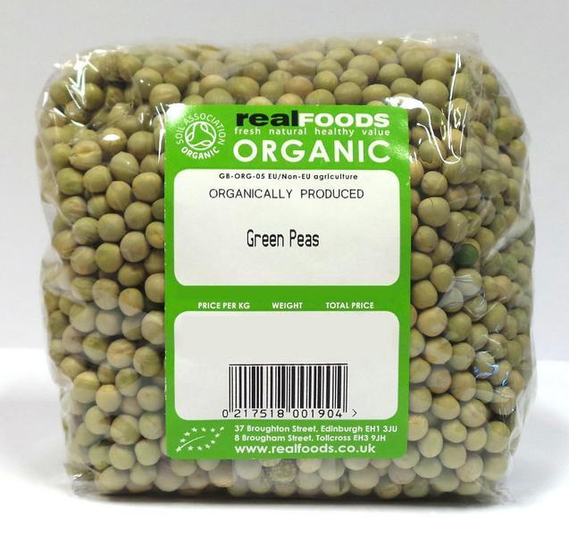 Green Peas ORGANIC
