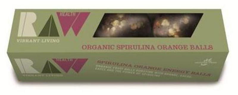 Spirulina & Orange Energy Balls ORGANIC