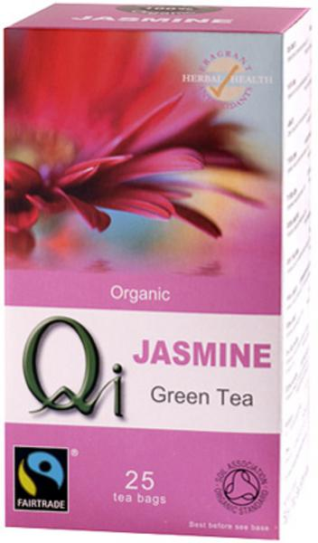 Green Tea & Jasmine T-Bags FairTrade, ORGANIC