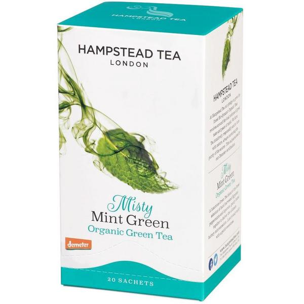 Green Tea & Mint T-Bags FairTrade, ORGANIC
