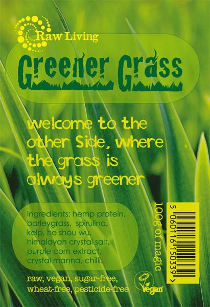 Greener Grass Raw Mix Supplement Vegan, wheat free