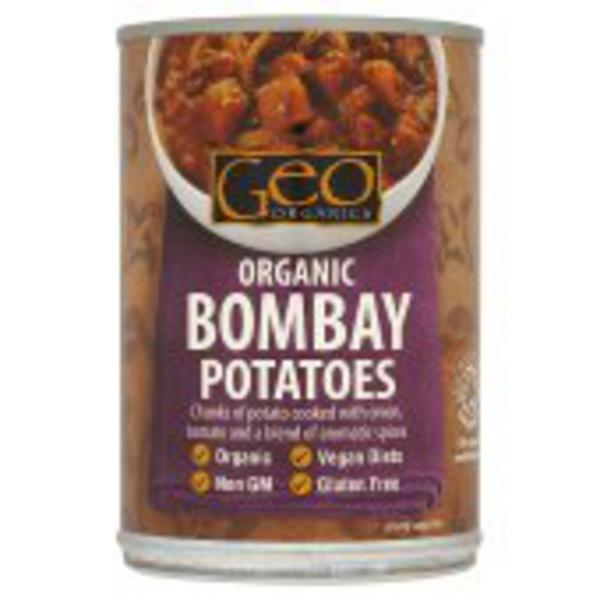 Bombay Potatoes Ready Meal Gluten Free, Vegan, ORGANIC