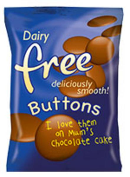 Alternative to Chocolate Buttons dairy free