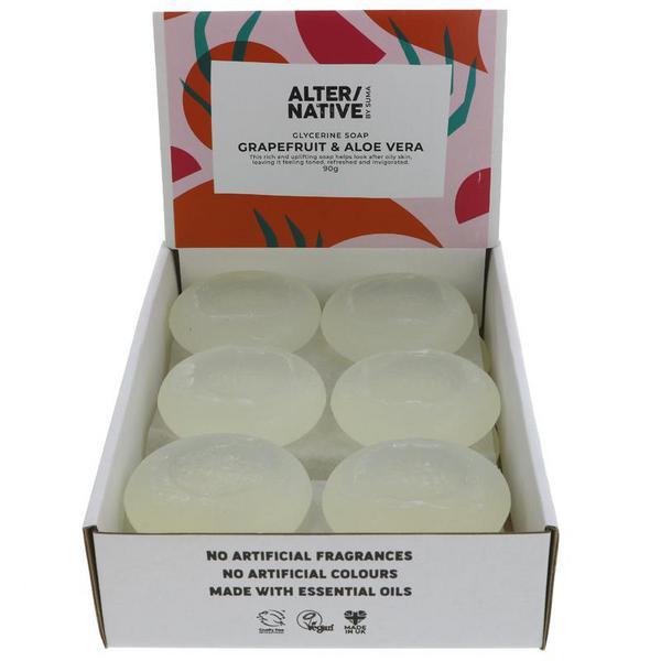 Grapefruit & Aloe Vera Soap dairy free, Vegan