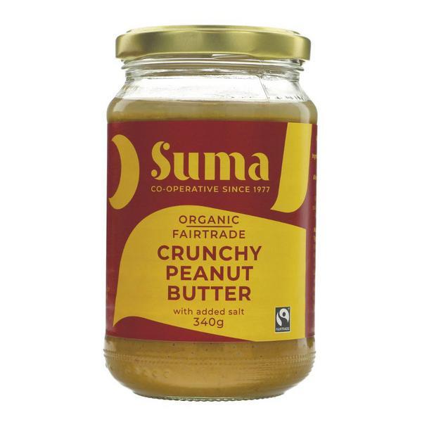 Crunchy Peanut Butter FairTrade, ORGANIC
