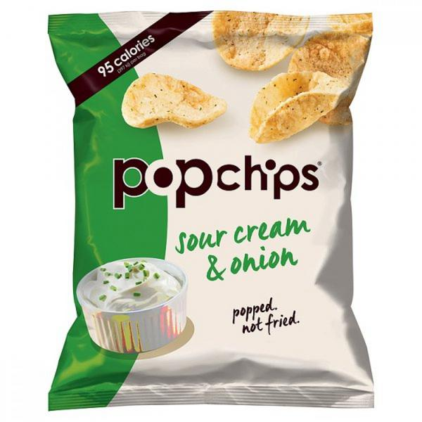 Sour Cream & Onion Popped Potato Crisps