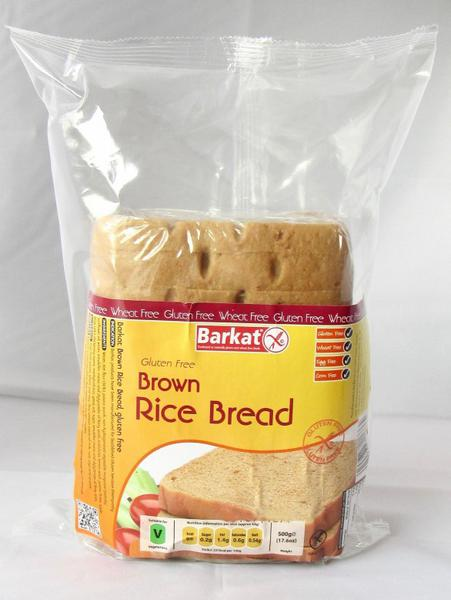 Brown Rice Sliced Bread Gluten Free