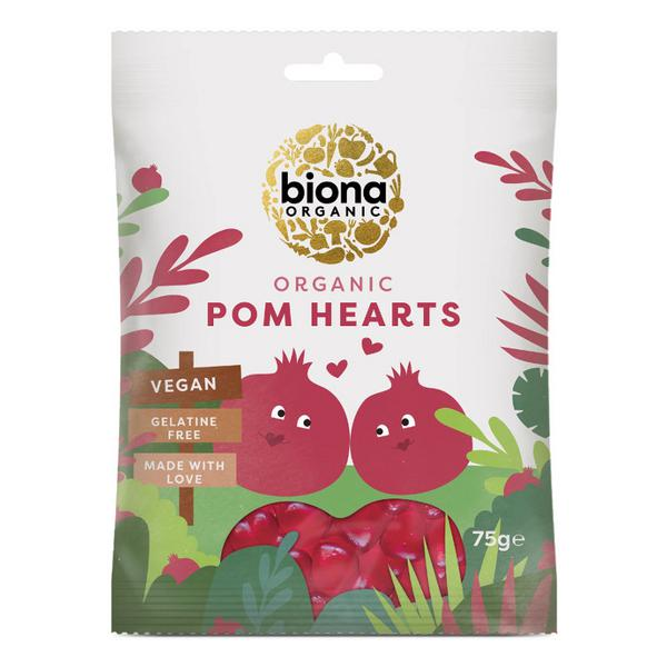 Pomegranate Heart Sweets ORGANIC