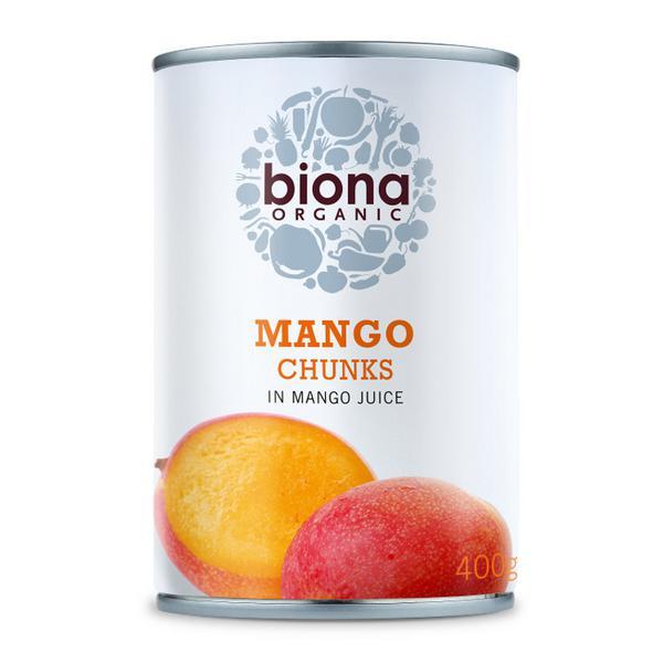 Mango Chunks in Juice ORGANIC