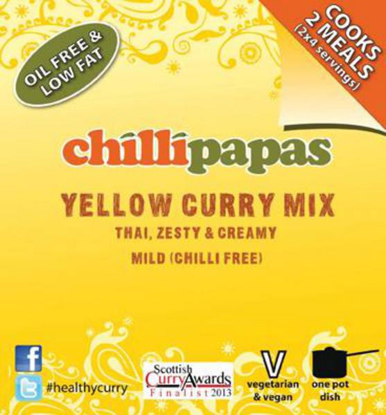 Chilli Papas Yellow Curry Mix 27g
