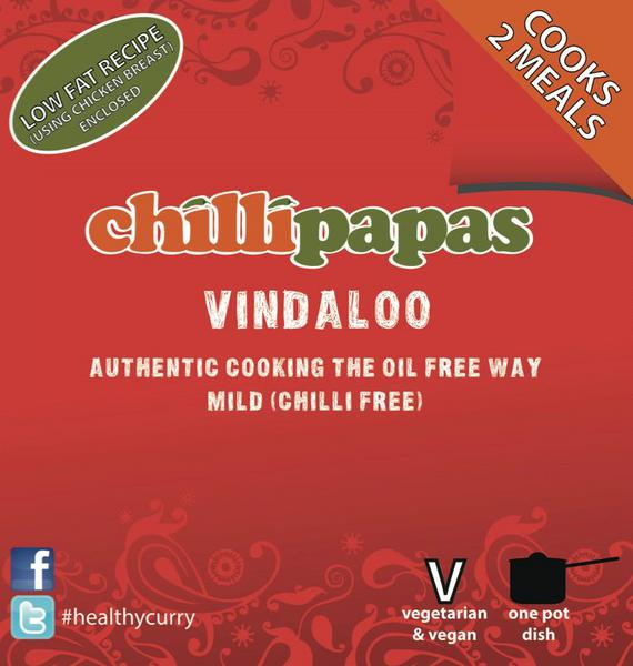 Chilli Papas Mild Vindaloo Curry Mix 26g