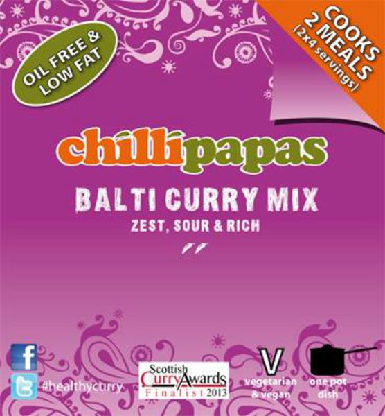 Chilli Papas Balti Curry Mix 26g