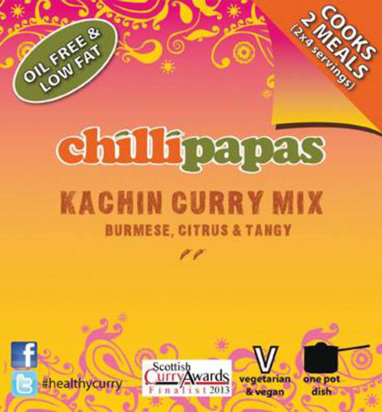Chilli Papas Kachin Curry Mix 19g
