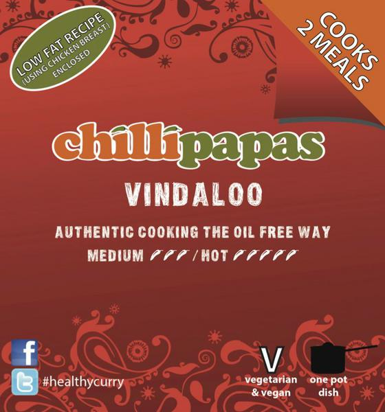 Chilli Papas Medium Hot Vindaloo Curry Mix 34g