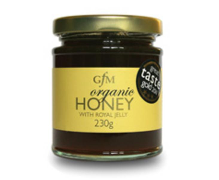Organic Honey With Royal Jelly In 240g From Gfm