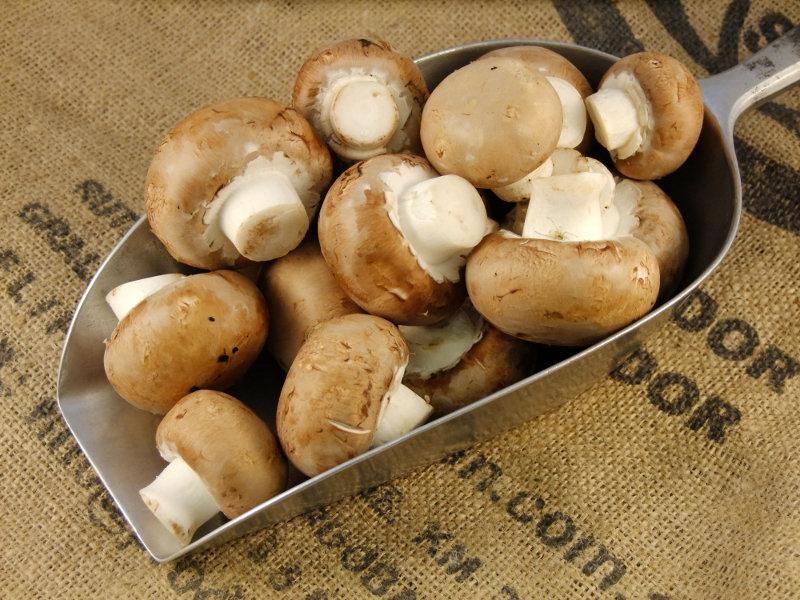 Brown Mushrooms UK ORGANIC