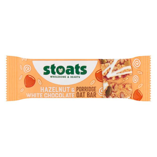 White Chocolate & Hazelnut Porridge Oats Snackbar