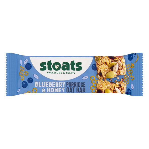 Blueberry & Honey Porridge Oat Snackbar