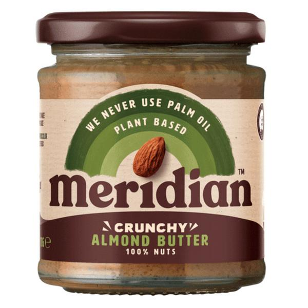 Crunchy Almond Nut Butter 100% no added salt, no sugar added