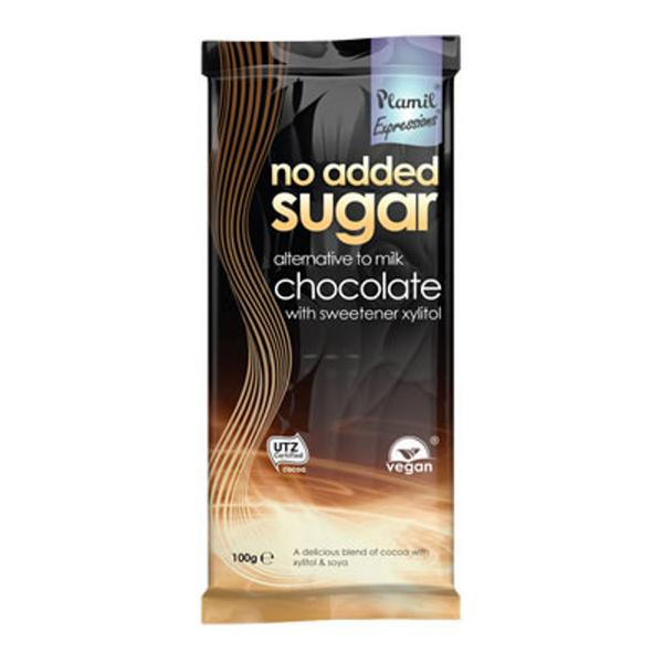 Alternative to Milk Chocolate Gluten Free, no added sugar, Vegan