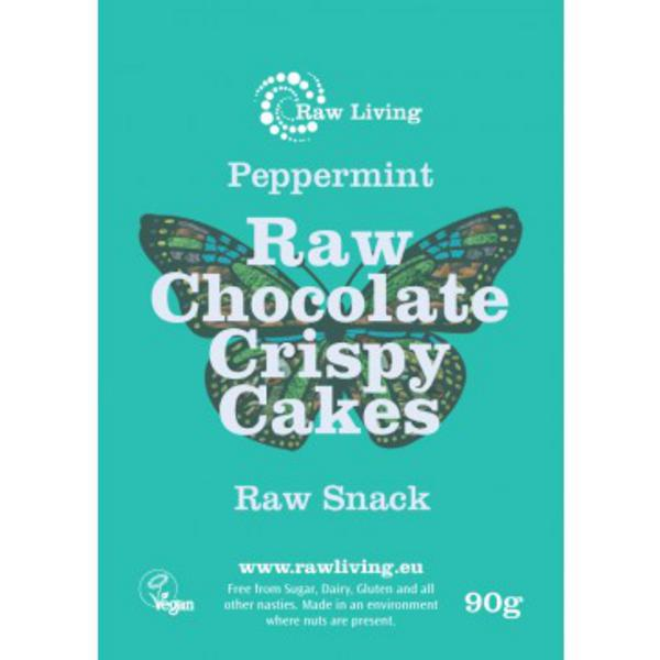 Raw Chocolate Crispy Cake Vegan, ORGANIC