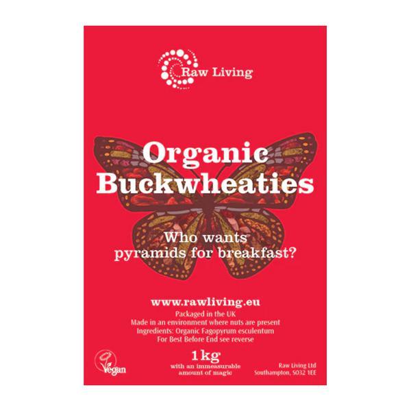 Buckwheat Cereal Raw Gluten Free, ORGANIC