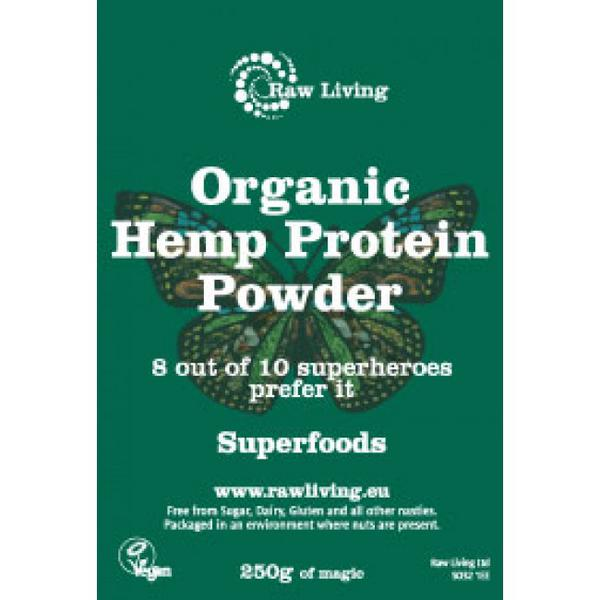 Hemp Protein 50% Vegan, ORGANIC