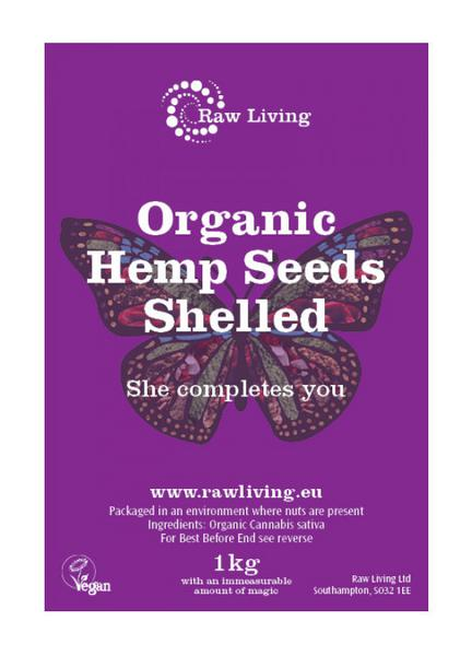 Hemp Seed Shelled ORGANIC