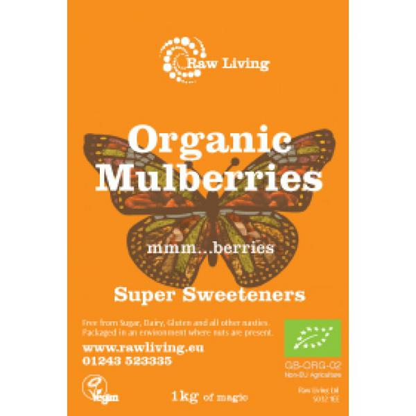 White Mulberries ORGANIC