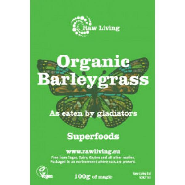 Barley Grass New Zealand dairy free, ORGANIC