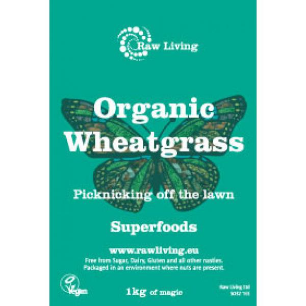 Wheatgrass Powder New Zealand ORGANIC