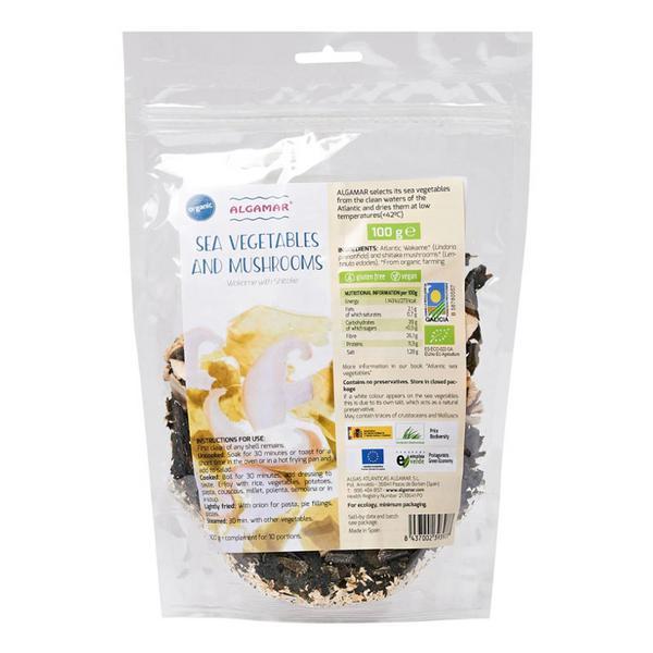 Wakame & Mushroom Mix Gluten Free, Vegan, ORGANIC