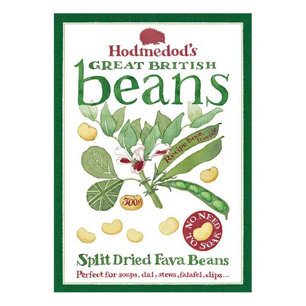 Split Dried Fava Beans