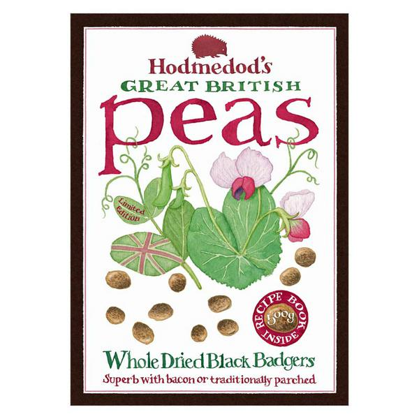 Whole Dried Black Badger Peas