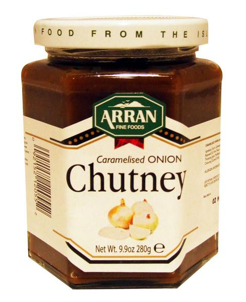 Caramelised Onion Chutney in 280g from Arran Fine Foods