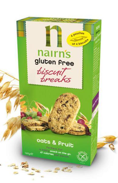 Fruit & Spice Oat Biscuit Breaks wheat free