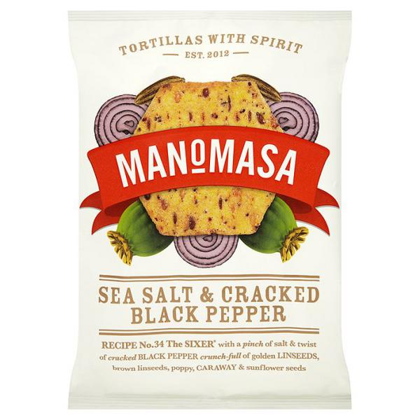 Sea Salt & Black Pepper Tortilla Chips