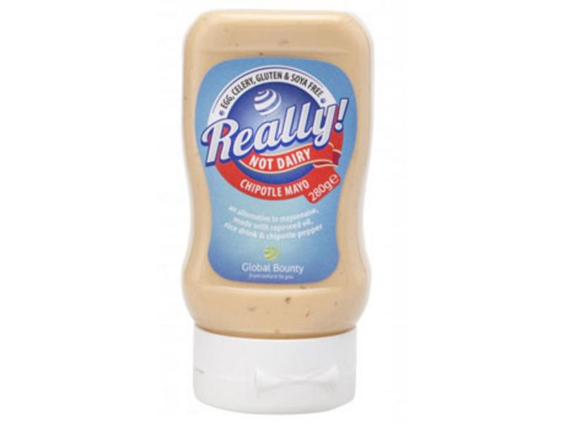 Really! Chipotle Mayonnaise Dairy Alternative Gluten Free, Vegan
