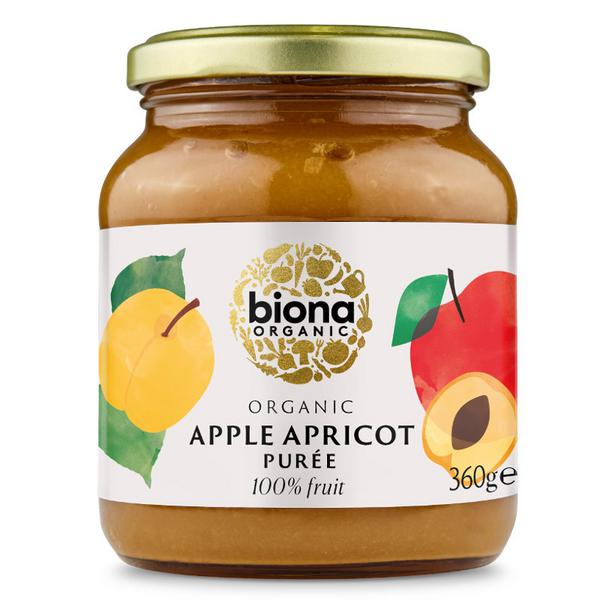 Apple & Apricot Puree no added sugar, ORGANIC