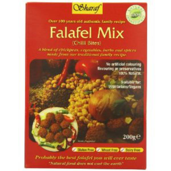 Chilli Bites Falafel Mix Gluten Free, Vegan