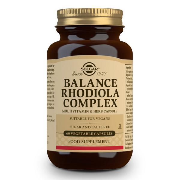 Vegetable Capsules Rhodiola Complex Vegan