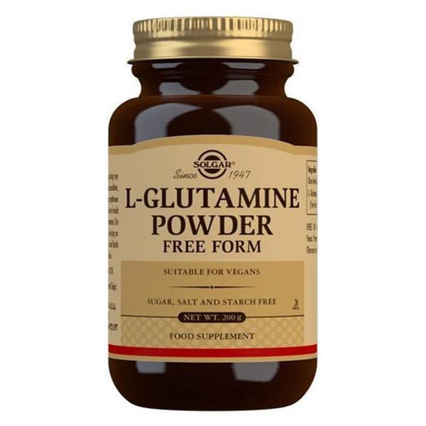 lglutamine powder amino acid in 200g from solgar