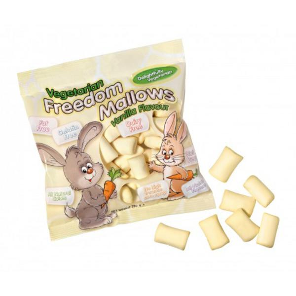 Vegetarian Vanilla Marshmallows fat free, Vegan