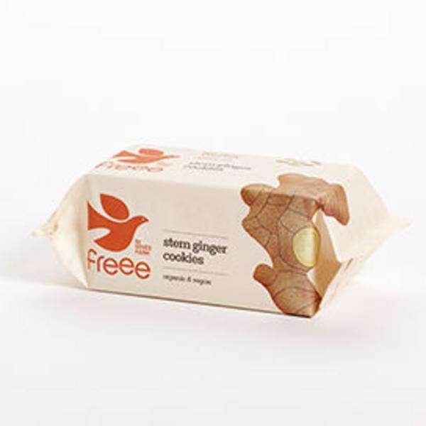 Stem Ginger Cookies Gluten Free, FairTrade, ORGANIC