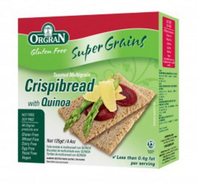 Quinoa Multigrain Crispbreads Gluten Free